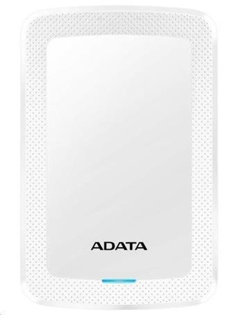 "ADATA Externí HDD 1TB 2,5"" USB 3.1 HV300, bílá"
