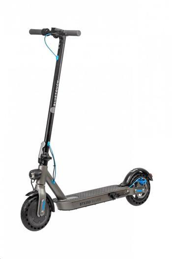 Bluetouch BTX250 Stříbrná elektrická skládací koloběžka