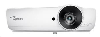 Optoma projektor EH461 (DLP, FULL 3D, 1080p, 5 000 ANSI, 20 000:1, 2x HDMI, 1xVGA, USB, 10W speaker)