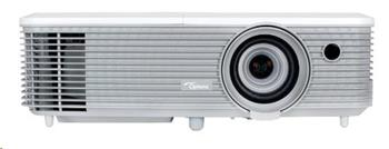 Optoma projektor EH400+ (DLP, FULL 3D, 1080p, 4000 ANSI, 22 000:1, 2x HDMI with MHL, USB, VGA, 10W speaker)