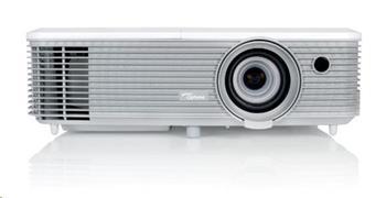 Optoma projektor W400+ (DLP, FULL 3D, WXGA, 4 000 ANSI, 22 000:1, 2xHDMI and MHL, 2xVGA, USB, RS232)