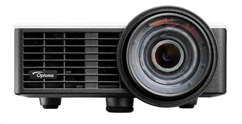 Optoma projektor ML1050ST (DLP, WXGA, 3D, LED, 1 000 ANSI, 20 000:1, VGA, USB, HDMI, MHL, built-in speaker)