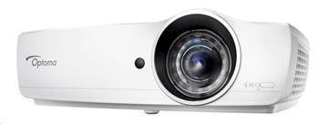 Optoma projektor EH460ST (DLP, FULL 3D, FULL HD, 4 200 ANSI, 20 000:1, HDMI, MHL, VGA, Audio, USB, 10W speaker)
