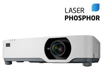 NEC Projektor 3LCD P525WL (1280x800,5000ANSI lm,520 000:1), 1.6x Zoom,20000h/lamp,2x HDMI,VGA,RCA,RJ45, Wlan optional,