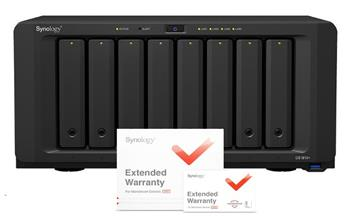 Synology DS1817 DiskStation (4C/AL-314/1,7GHz/4GBRAM/8xSATA/2xGbE/2x10GbE/2xUSB3.0/2xeSATA) + záruka 5 let