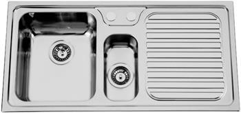 Sinks HERA 1000.1 V 0,7mm levý leštěný