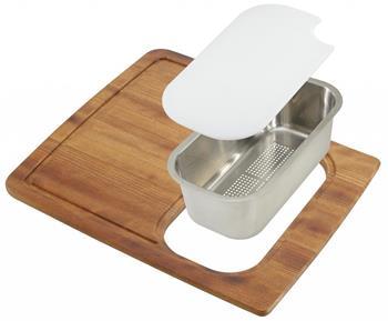 Sinks KIT 01 set (deska,miska,odkapávač)