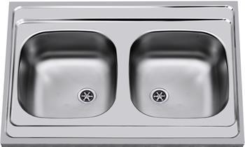Sinks CLP-A 800 DUO M 0,5mm matný