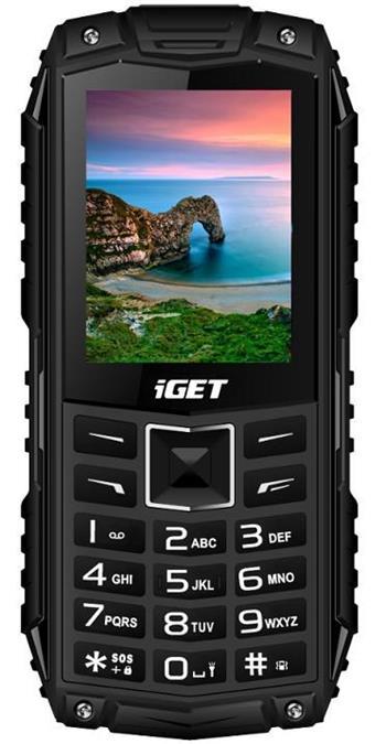 iGET Defender D10, Dual SIM, Black