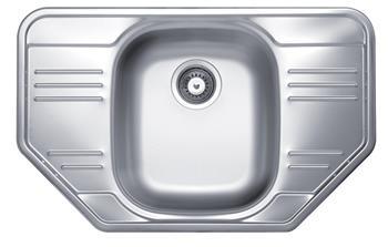 Sinks CUPID 780 V 0,6mm matný