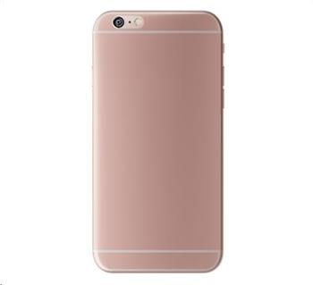 3mk ochranný kryt NaturalCase pro Apple iPhone 6, 6s, transparentní bílá