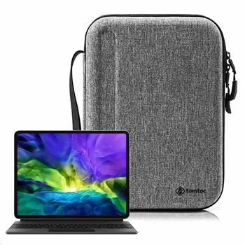 tomtoc Smart Briefcase – 10,9'' iPad Air / 11'' iPad Pro, šedá
