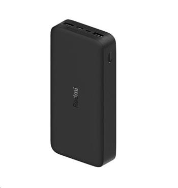 Xiaomi 20000 mAh Redmi 18W Fast Charge Power Bank (Black)