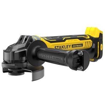 Stanley V20 Aku bezuhlíková úhlová bruska, bez baterií a nabíječky