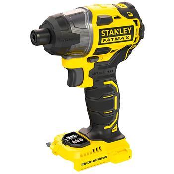"""Stanley Bezuhlíkový aku rázový utahovák 18 V 1/4"""", bez baterie a nabíječky"""