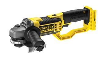 Stanley Aku úhlová bruska 125 mm 18 V, bez baterie a nabíječky