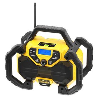 Stanley Aku rádio 18 V/adaptér 230 V, bez baterie a nabíječky