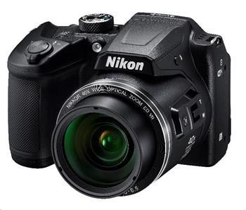 Nikon kompakt Coolpix B500, 16MPix, 40x zoom - černý