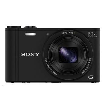 SONY DSCWX350B Cyber-Shot 18.2MPix, 20x zoom, Wi-Fi - černý