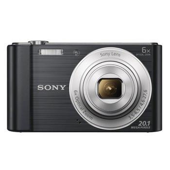SONY DSCW810B Cyber-Shot 20.1MPix, 6x zoom - černý