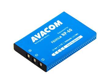 AVACOM fotobaterie pro Fujifilm NP-60 Kodak KLIC-5000 Olympus LI-20B Samsung SLB-1037 SLB-1137 Li-Ion 3.7V 1000mAh 3.7Wh