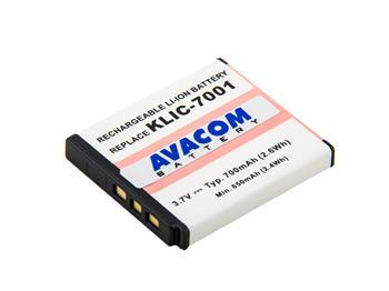 AVACOM fotobaterie pro Kodak KLIC-7001 Li-Ion 3.7V 700mAh 2.6Wh