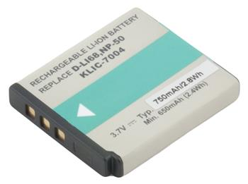AVACOM baterie pro Fujifilm NP-50, Kodak KLIC-7004, Pentax D-LI68 Li-Ion 3.7V 750mAh 2.8Wh