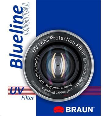 Braun filtr UV BlueLine 43 mm