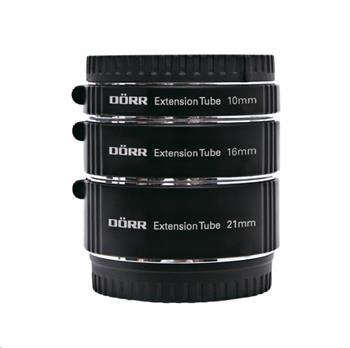 Doerr Mezikroužky 10/16/21 mm Digital (Sony NEX)
