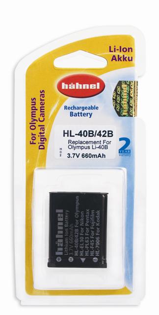 Hahnel Baterie Hahnel Olympus HL-40B/42B / Li-40B/42B Baterie Hahnel Olympus HL-40B/42B / Li-40B/42B