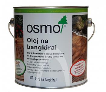 Osmo 006 Bangkirai přírodní olej na terasy 2,5 l