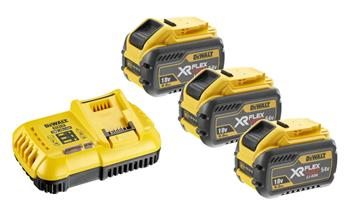 DeWALT DCB118X3 Sada baterií XR FLEXVOLT